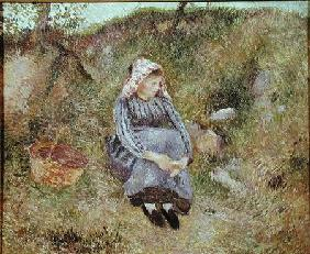 Seated Peasant Girl
