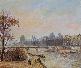 The Seine and the Louvre