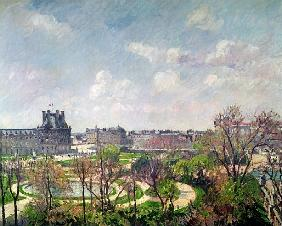 The Garden of the Tuileries, Morning, Spring