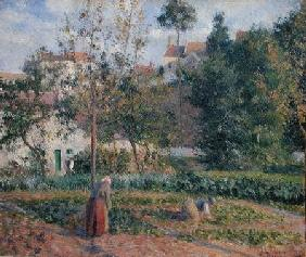 Vegetable Garden at the Hermitage, Pontoise