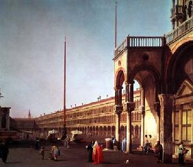 Piazza di San Marco, from the Piazetta, in Venice