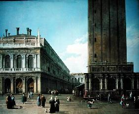 Piazza San Marco: Looking West from the North End of the Piazzetta