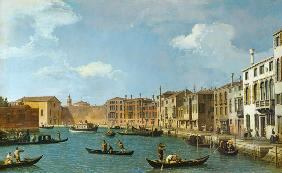 View of the Canal of Santa Chiara, Venice