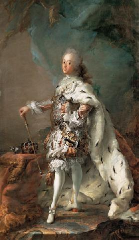 Portrait of Frederik V (1723-1766) in Anointment Robe