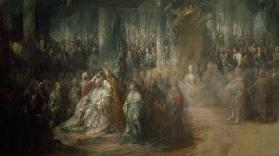 The Coronation of King Gustav III of Sweden