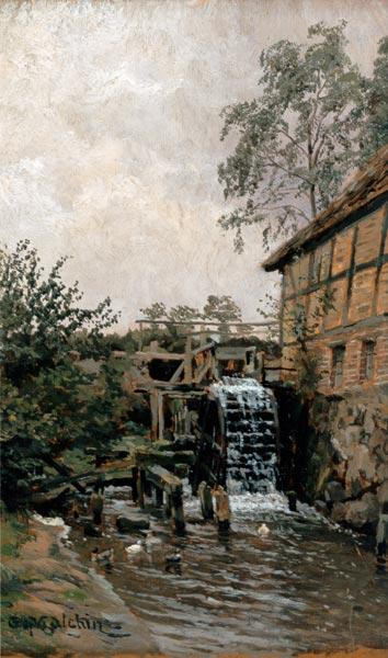 Water-mill in long Brütz.