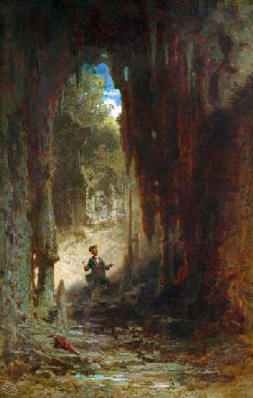 Spitzweg / The Mineralogist / Painting