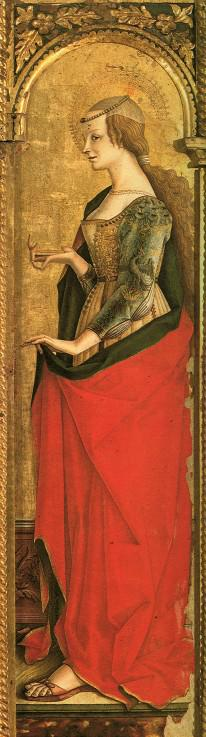 Mary Magdalene (right panel of the Altarpiece)