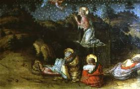 The Agony in the Garden, left hand predella panel from the San Silvestro polyptych
