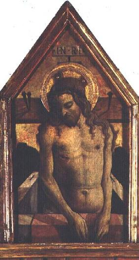 The Resurrected Christ, detail from the San Silvestro polyptych