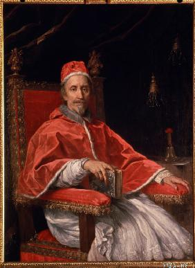 Portrait of Pope Clement IX (1600-1669)