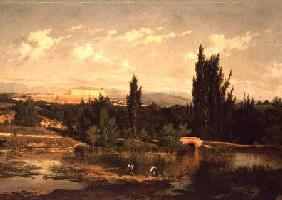 Countryside with a River, Manzanares