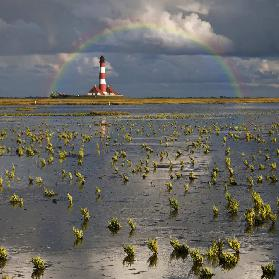 Lighthouse meets Rainbow