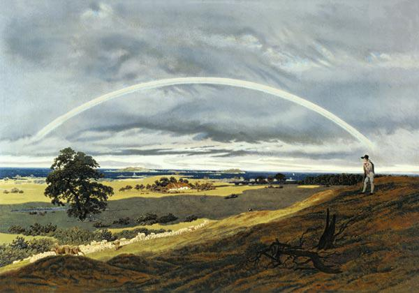 Landscape with the rainbow