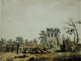 Landscape with a Pavilion