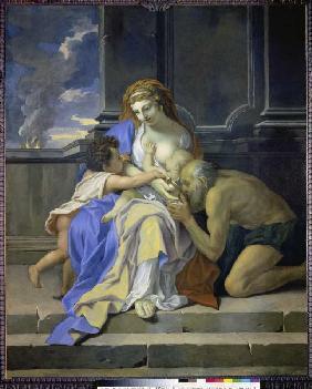 Allegory of the charity (Charité)