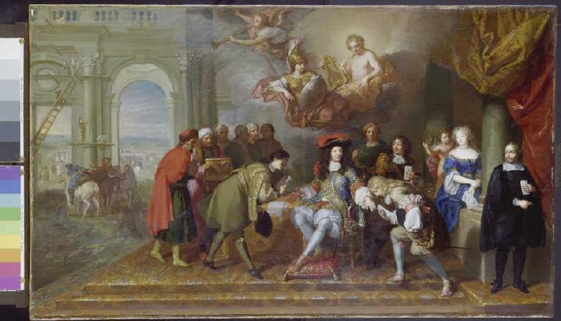 louis xiv one king one law Sidra ali period 5 11/2/16 louis xiv declared his goal was one king, one law, one faith analyze the methods the king used to achieve this objective and discuss the extent to which he was successful.