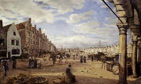 The Grande Place d'Arras on Market Day