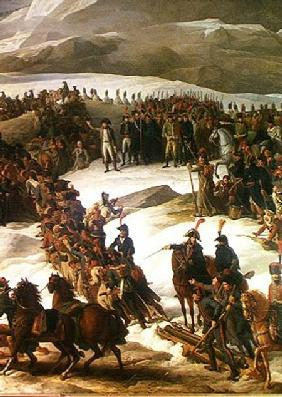 The French Army Crossing the St. Bernard Pass, 20th May 1800