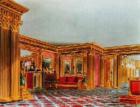 The Golden Drawing Room, Carlton House, from 'The History of the Royal Residences', engraved by Thom