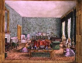 The Drawing Room at Meesdenbury, f13 from An Album of Interiors