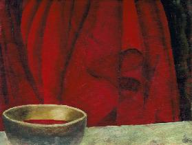 Lustrous Red, 2003 (oil on canvas)