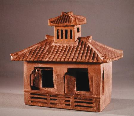 Chinese house model han dynasty