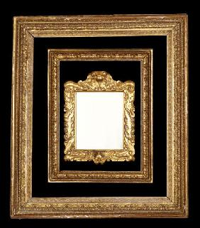 A Group Of Three English 17th, 18th And 19th Century Carved And Gilded Frames