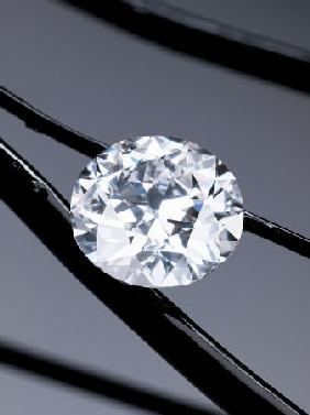 An Unmounted Circular-Cut Diamond Weighing 50