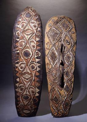 An Upper Sepik And A Rare Hunstein Shield from Papua New Guinea