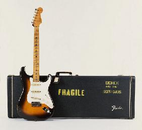 Brownie'' - A 1956 Fender Stratocaster Guitar With Case Used On The Whole Of The Layla Album
