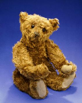Cinnamon Center Seam Steiff Bear, Circa 1903