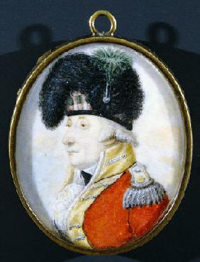 Colonel Henry Nairne Facing Left In Military Uniform And Plumed Hat