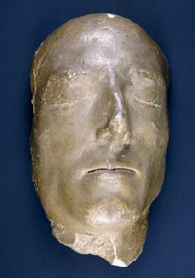 Death Mask Of Prince Charles Edward Stuart (1720-1788) , Plaster