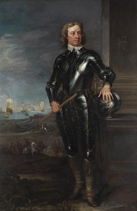 English School, Probably Late 1650s  Portrait Of Oliver Cromwell (1599-1658), Lord Protector Of Engl