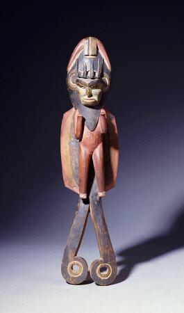 Northern Haida Carving Of A Shaman, Late 19th Century