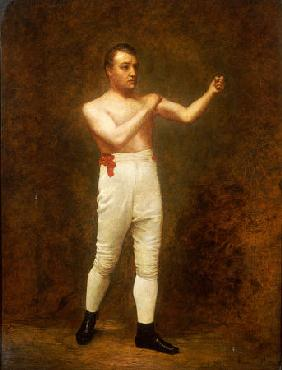 Portrait Of A Boxer, Said To Be Tom Sayers