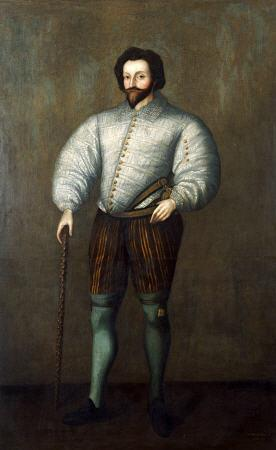 Portrait Of A Gentleman Traditionally Identified As Sir Francis Drake