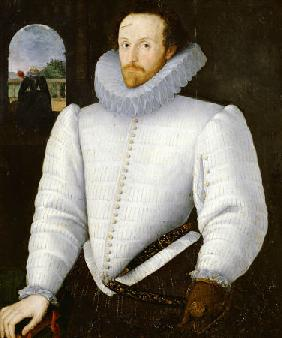 Portrait Of A Gentleman Traditionally Identified As Sir Walter Raleigh