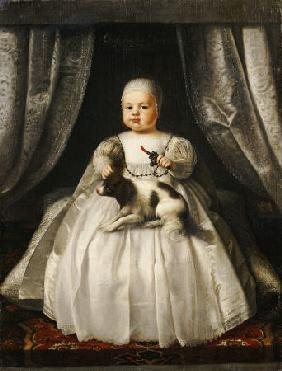 Portrait Of King Charles II As A Child