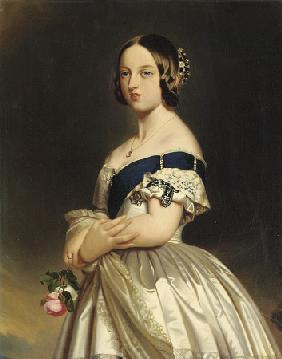 Queen Victoria After Franz Xaver Winterhalter (1805-1873)