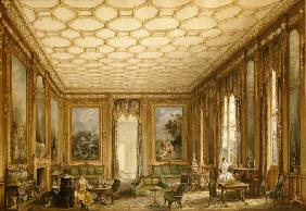 View Of A Jacobean-Style Grand Drawing Room