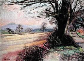Wagon Lane (pastel on paper)