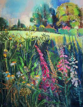 Summer Field (pastel on paper)