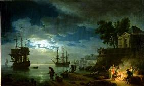 Night: A Port in the Moonlight
