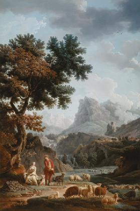 The Alpine Shepherdess