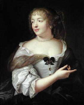 Portrait of Marie de Rabutin-Chantal
