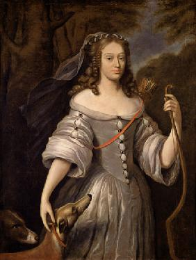 Portrait of Francoise Louise de la Baume le Blanc (1644-1710) Duchesse de Vaujour, also known as Mad