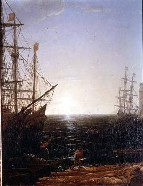 Harbour Scene (detail)
