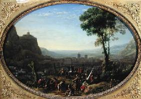 The Pass of Susa Taken by Louis XIII in 1629